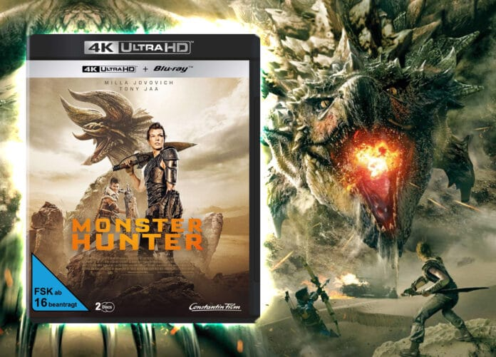 Action, Fantasy und Science Fiction: Monster Hunter auf 4K Blu-ray