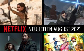 "Netflix Neuheiten im August 2021: ""The Witcher"" Anime, Tomb Raider, Sweet Girl mit Jason Momoa (Aquaman) uvm."