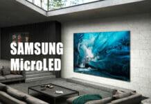 Samsung kleinere MicroLED-TVs mit 99 Zoll und kleiner verzögern sich erneut!