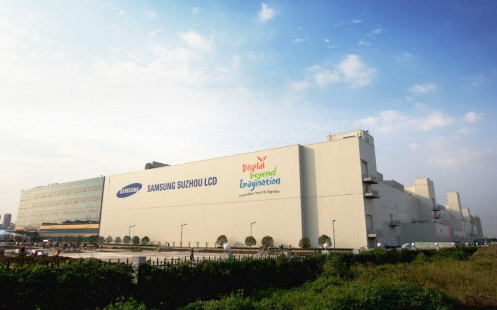 Anlagen wie Samsung Suzhou LCD-Produktion sollten eigentlich bereits längst verkauft sein