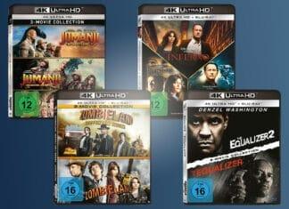 Die offiziellen Abbildungen der Sony Movie-Collections auf 4K Blu-ray - exklusiv auf Amazon.de