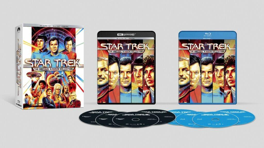 Die restaurierten Fassungen der Star Trek Filme erscheinen auf DVD, Blu-ray und 4K UHD Blu-ray