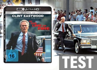 Test In The Line Of Fire 4K Blu-ray