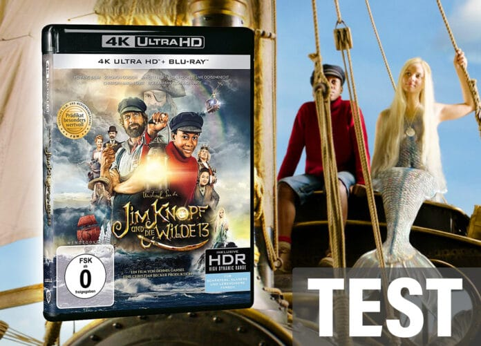Test Jim Knopf und die Wilde 13 4K UHD Blu-ray