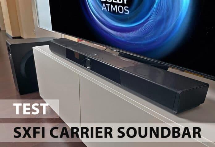 Die Creative SXFI Carrier Soundbar mit HDMI 2.1 im Test!