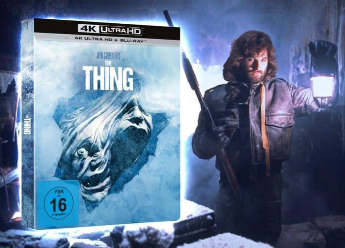 The Thing 4K Blu-ray Steelbook vorbestellen