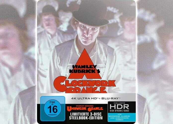 Uhrwerk Orange 4K Blu-ray Steelbook