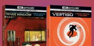 """""""Vertigo"""" und """"Das Fenster zum Hof"""" jetzt als limitiertes 4K Blu-ray Steelbook vorbestellbar"""
