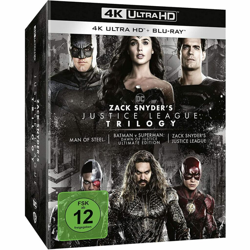 Das Design der deutschen 4K Blu-ray ähnelt der US-Version bis auf ein, zwei Änderungen (silberne Banderole mit 4K Ultra HD Blu-ray + Blu-ray und FSK-Sticker).