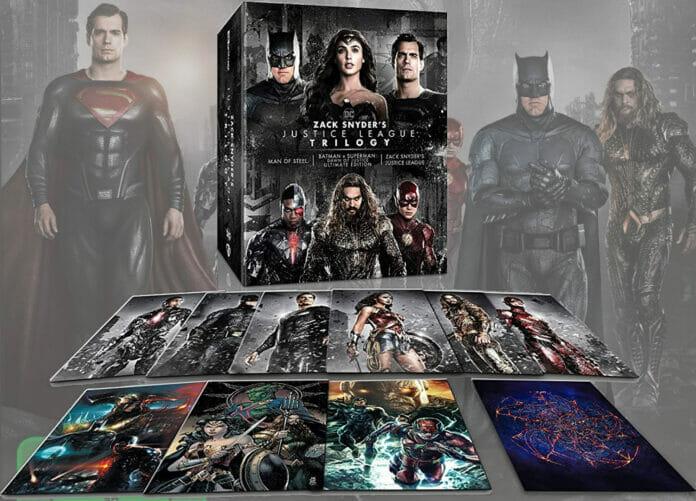 Sieht so die Zack Snyders Justice League Triologie auf 4K Blu-ray aus?