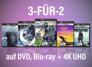 33% auf ausgewählte DVDs, Blu-rays und 4K UHD Discs von Fox sparen!