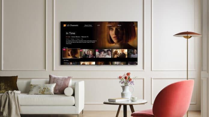 LG stockt seine kostenlosen Channels erheblich auf.
