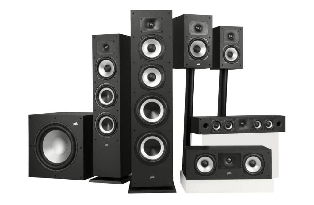 Die Polk Audio Monitor XT sind auch für 3D-Sound gerüstet.