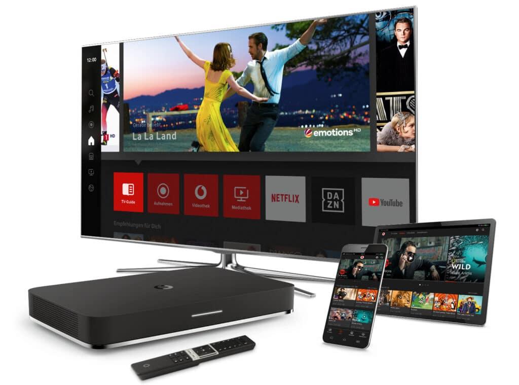 Vodafone Giga TV integriert deutlich mehr Inhalte von RTL - auch in 4K.