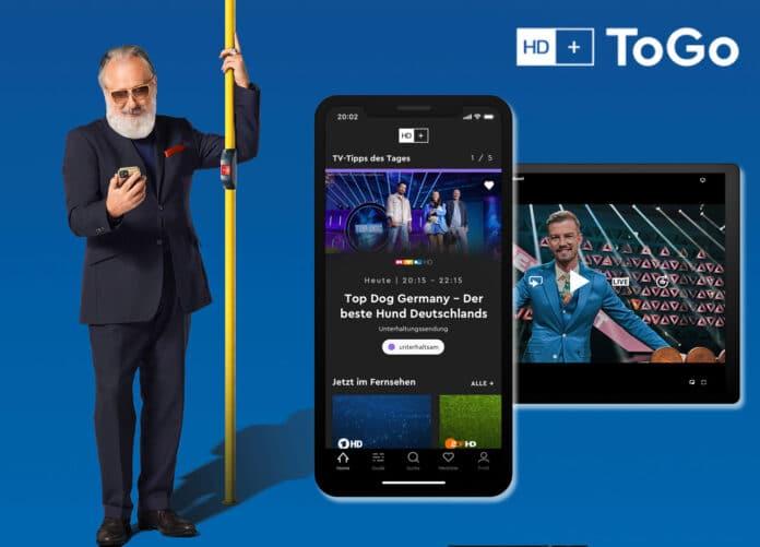 Mit HD+ ToGo könnt ihr über 50 HD-Sender auf mobilen Geräten mit iOS und Android streamen    (c) HD+