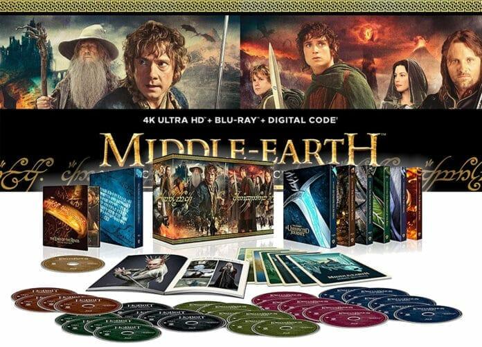 Die Mittelerde Complete Collection auf 4K Blu-ray enthält die Kinofassung und Extended Versionen!