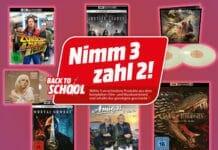 Die Nimm 3 zahl 2 Multibuy-Aktion lohnt sich vor allem in der Kategorie 4K Blu-ray