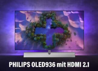 OLED936 4K OLED TV mit HDMI 2.1 von Philips