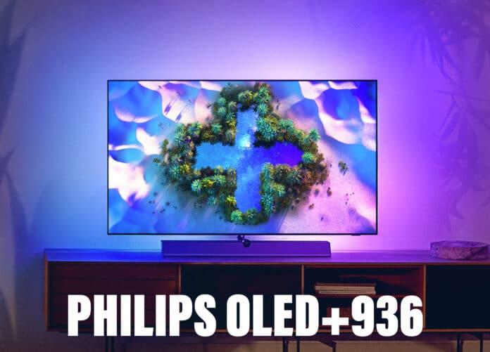 Der Phlips OLED+936 Premium 4K OLED TV mit HDMI 2.1, Ambilight uvm.