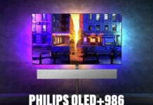 Der Philips OLED+986 ist das 2021-Flaggschiff mit OLED Evo-Panel, HDMI 2.1 uvm.