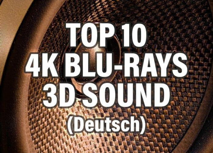 Die 10 besten 4K UHD Blu-rays mit deutschem 3D Sound (Dolby Atmos / dts:X)