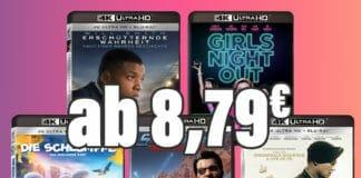 Noch günstiger wäre geklaut: UHD Blu-rays ab 8,79 Euro!