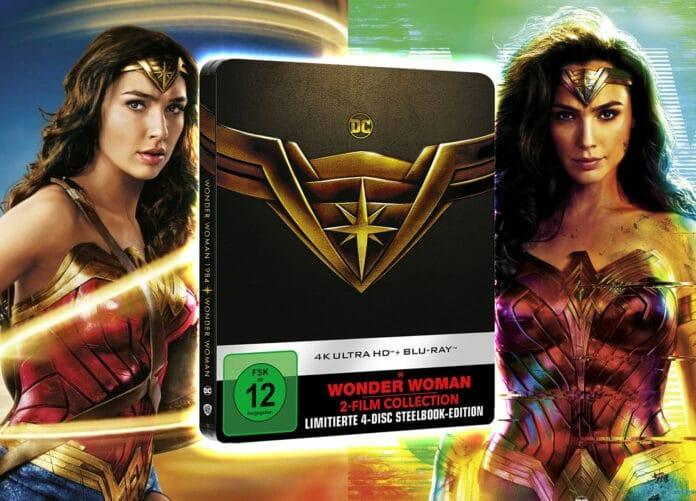 'Wonder Woman' und 'Wonder Woman 1984' erscheinen als limited 2-Movie-Collection 4K Blu-ray Steelbook