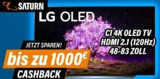 Bis zu 1.000 Euro Cashback beim Kauf eines 4K OLED TV der C1-Serie (C17LA) sichern - Solange der Vorrat reicht!