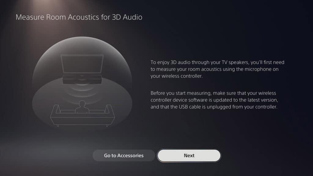 Die PS5 soll Stereo-TV-Lautsprechern 3D-Klänge entlocken - der  Dualsense Wireless Controller hilft bei der Kalibrierung