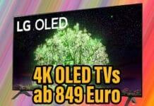 LG 4K OLED Fernseher ab 849 Euro - muss man dazu noch mehr sagen?