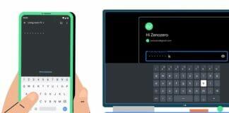 Google TV: Über die Remote-App könnt ihr z. B. Texte am Smartphone eingeben.