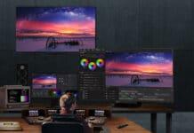 Der LG OLED Pro 65EP5G ist für professionelle Anwender gedacht.