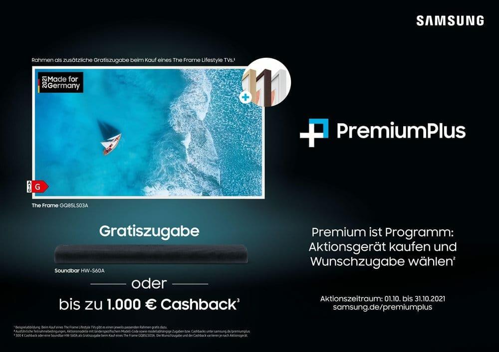 Samsung will mit PremiumPlus Kunden locken.