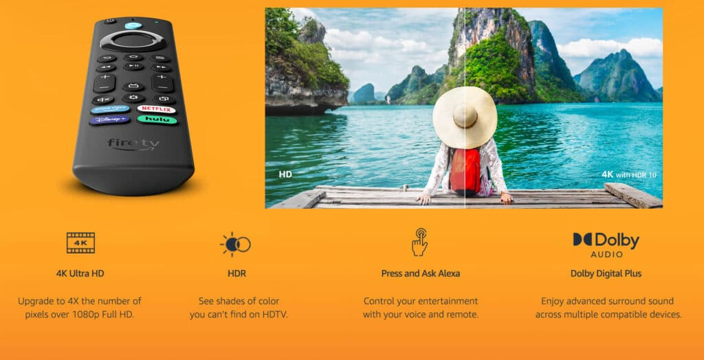 Beide Modelle werden mit Alexa Sprachfernbedienung ausgeliefert