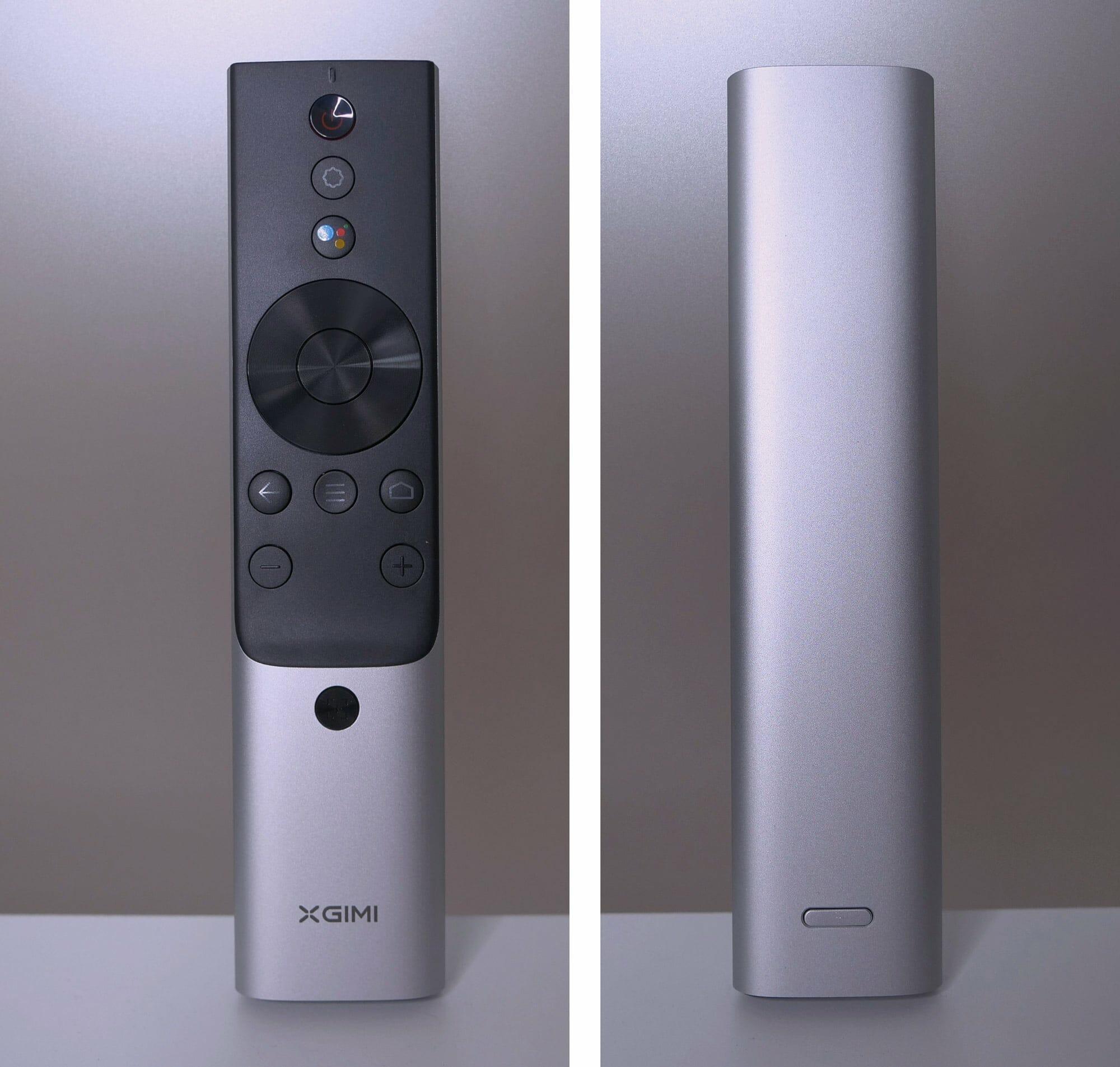 Die Bluetooth Fernbedienung des Horizon Pro hat ein wertiges Metall-Finish, angenehme Druckpunkte der Knöpfe und liegt gut in der Hand.