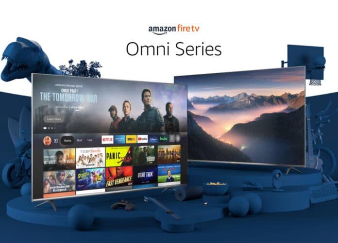 Amazon steigt mit dem der Omni-Serie (abgebildet) und Fire TV 4-Serie in den TV-Markt ein