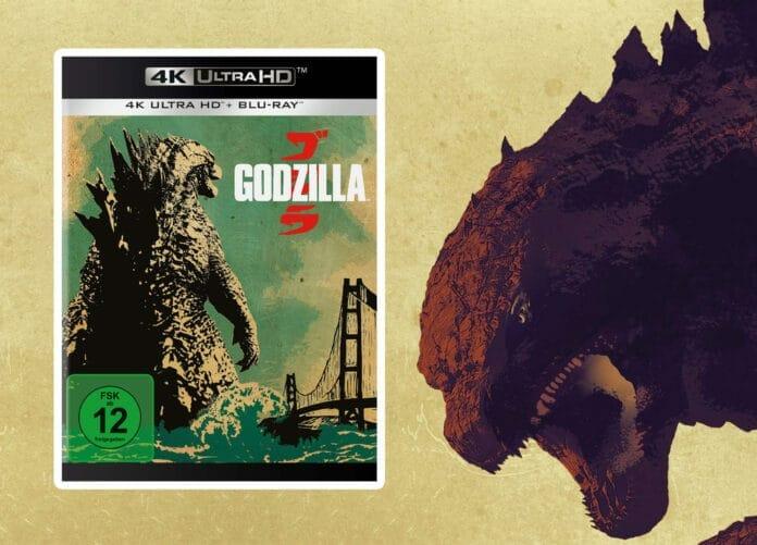 Godzilla jetzt als 4K Blu-ray Amaray / Keep Case