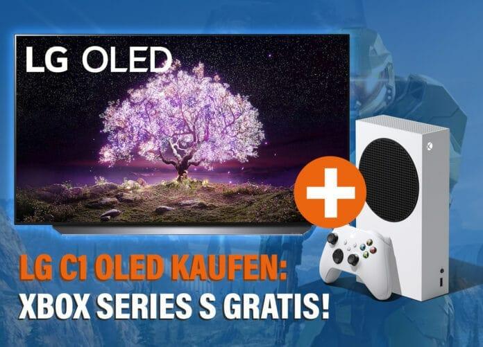 Gratis Xbox Series S Konsole beim Kauf eines LG C1 OLED TV