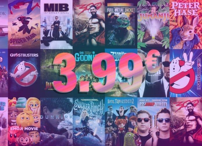 Guenstige 4K Filme auf iTunes für je nur 3.99 Euro