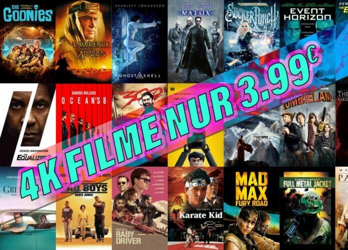 4K Filme auf iTunes für je nur 3.99 Euro!