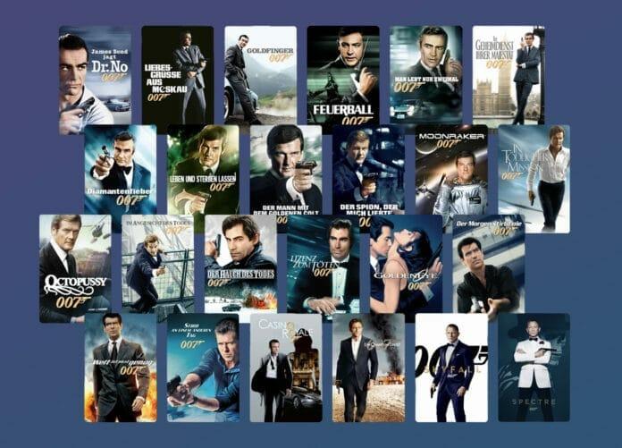 24 James Bond Filme für nur 99.99 Euro!