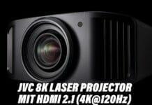 JVC präsentiert neue 8K Laser Projektoren mit HDMI 2.1 und HDR10+