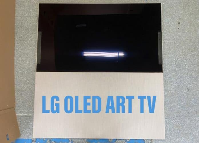 Wird LG den OLED-Art-TV erstmals auf der CES 2022 vorstellen?