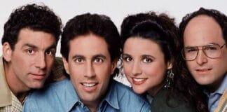 Seinfeld wird auf Netflix erstmals in 4K Auflösung gezeigt    Bild: NBC