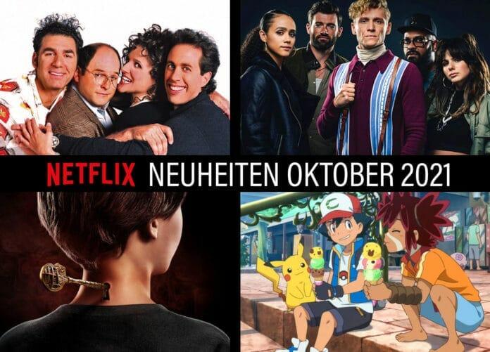 Die Oktober Neuheiten auf Netflix starten am 1. des Monats mit