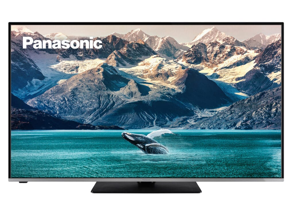 Der Panasonic JXW634 4K LCD TV gibt es in 43 bis 65 Zoll