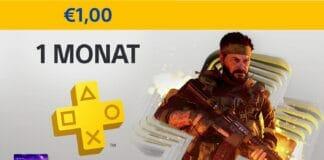 PlayStation Plus einen Monat für nur 1 Euro!