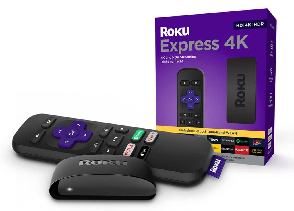 Roku Express 4K: Gleiches Format - vierfache Auflösung