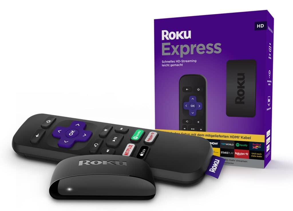"""Roku Express ist der """"Basis-Player"""" für Full-HD-Streaming"""