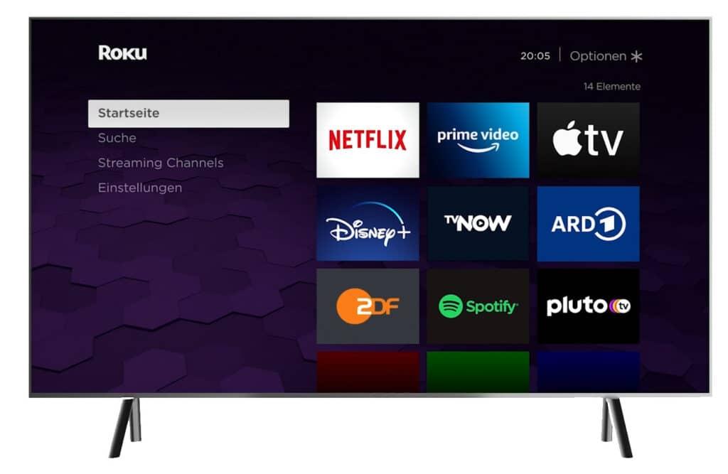 Roku OS wurde von Grund auf für Streaming-Anwendungen programmiert